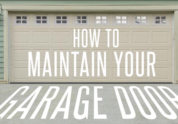 Maintain Garage Door New Jersey